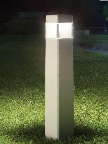 Lampa Ogrodowa Ideal Lux Elisa Pt1 Big Szara Lampy Lampy
