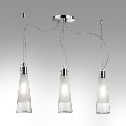 Lampa IDEAL LUX Kuky Clear SP3