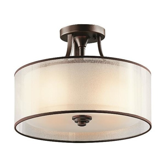 Plafon Elstead Lighting Lacey KL/LACEY/SF MB