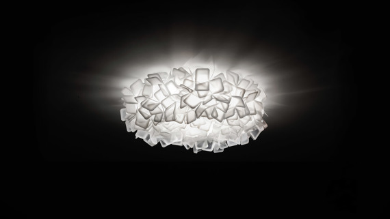 Plafon Slamp Clizia Large White